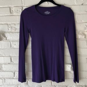 NWOT J. Crew Purple T-shirt